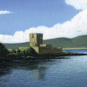 Doe Castle before Restoration