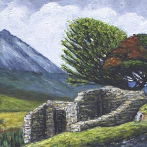Mount Errigal. A modern view