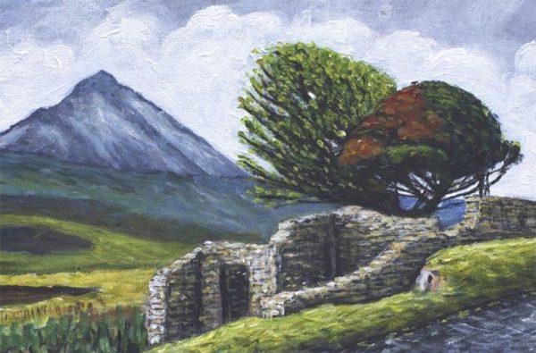 Mount Errigal. A modern view